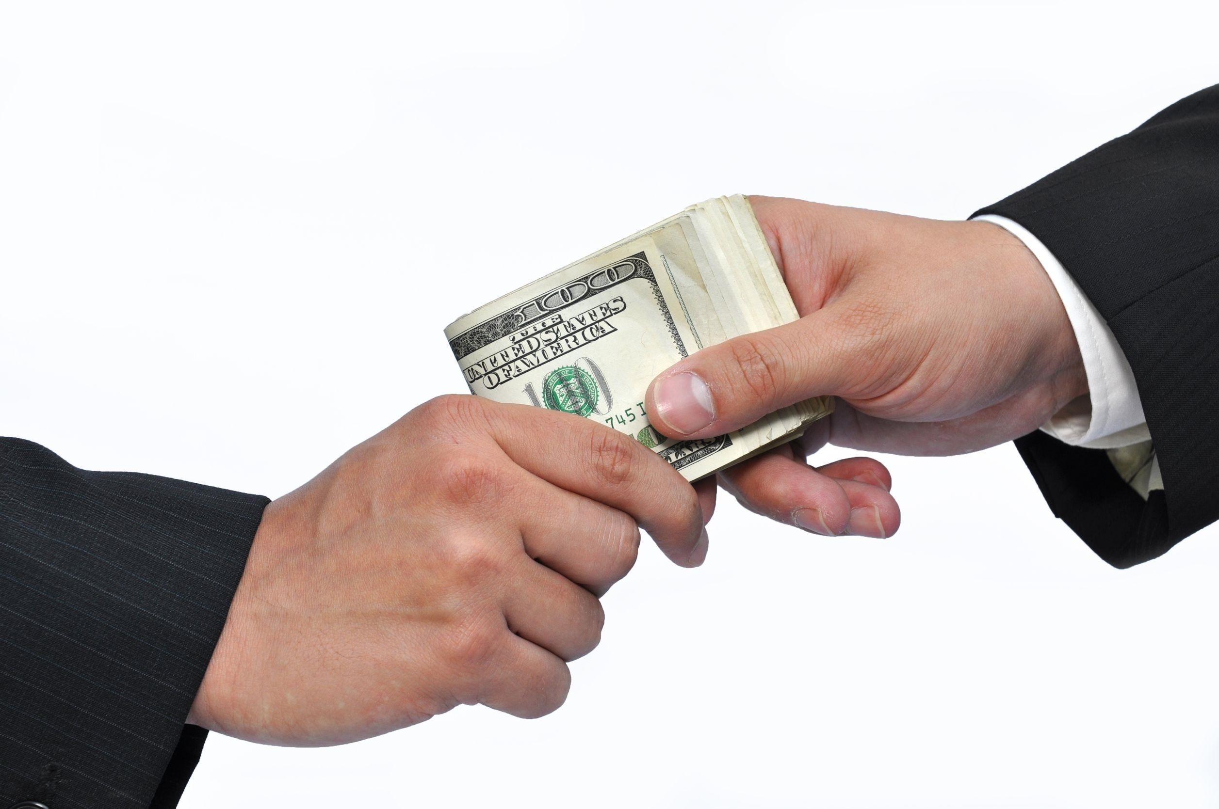 Aporte de capital com dinheiro bruto